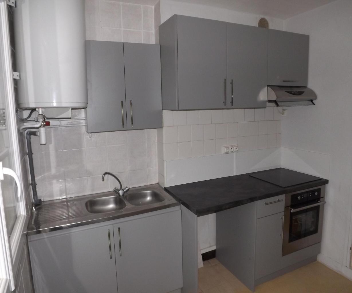 Agencement  petite cuisine dans appartement pour location sur Tyrosse