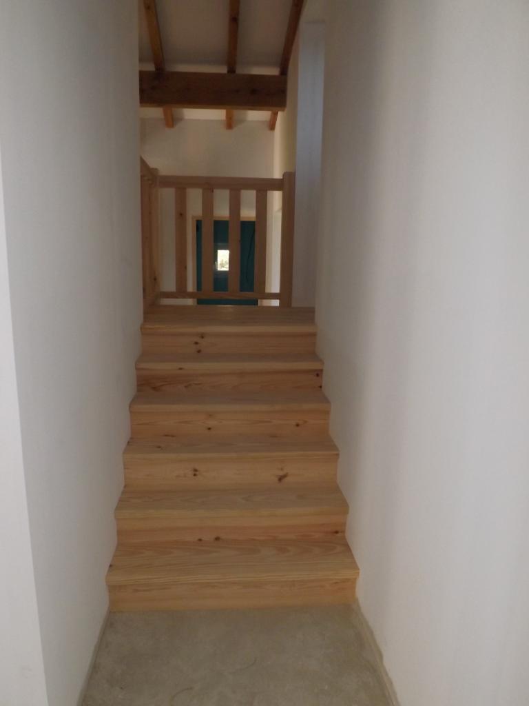 Escalier à palier en pin Absolu Bois