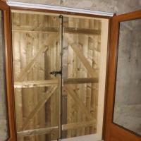 Volet bois traditionnel en épicéa traité classe 3