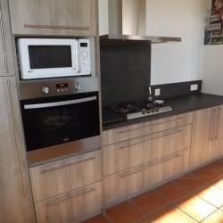 Fabrication et pose d 'une cuisine sur Labatut Absolu Bois
