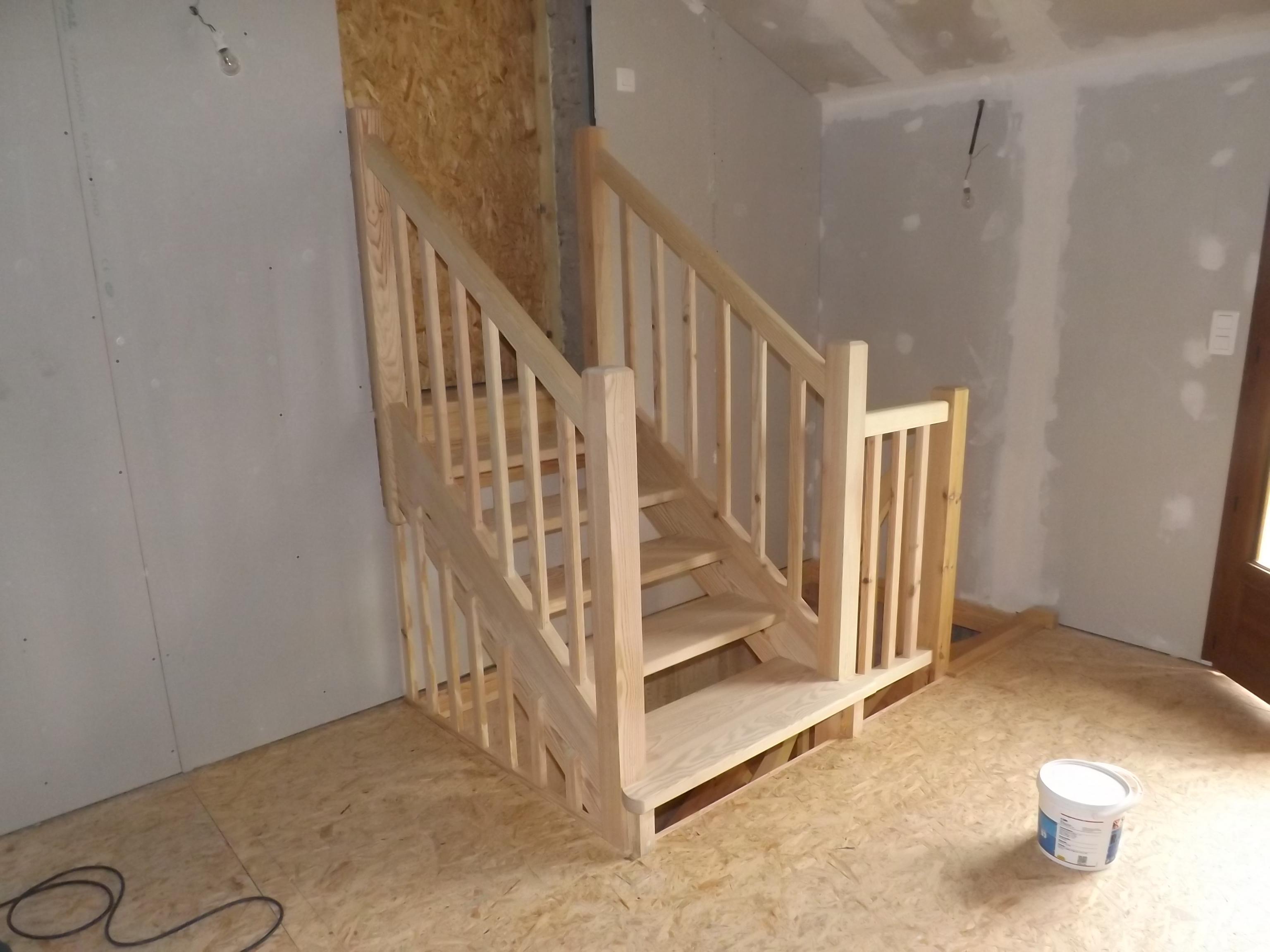 Fabrication et pose d'un escalier Absolu Bois