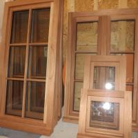 Fabrication de fenêtres bois en Sipo