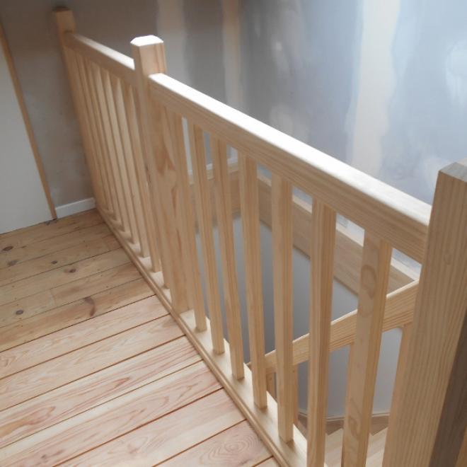 fabrication et pose d 39 un escalier et garde corps tage. Black Bedroom Furniture Sets. Home Design Ideas