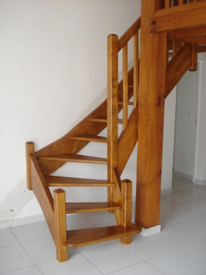 Escalier en pin de caroline Absolu Bois