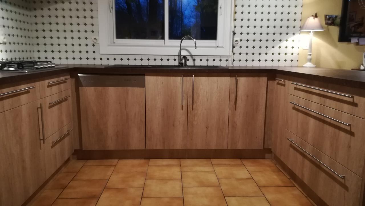 Fabrication et pose d'une cuisine sur Mées Absolu Bois