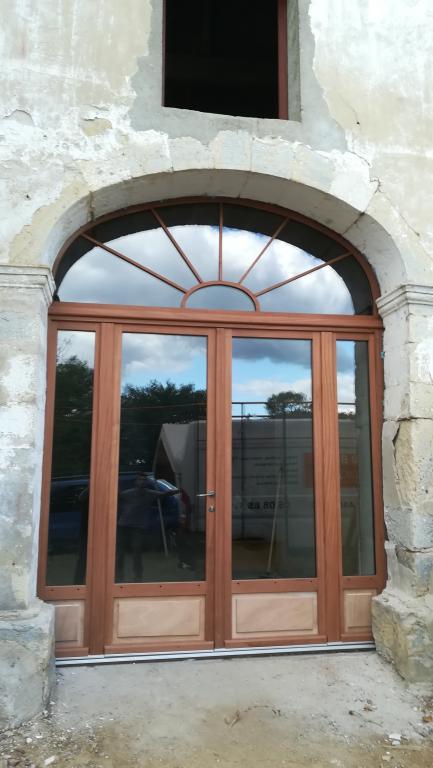 Porte bois 4 vantaux sur Cauneille par ABSOLU BOIS MENUISERIE