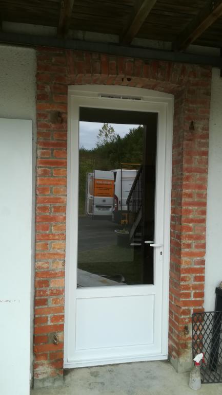 Porte fenêtre en pvc surLabatut - Absolu Bois Menuiserie