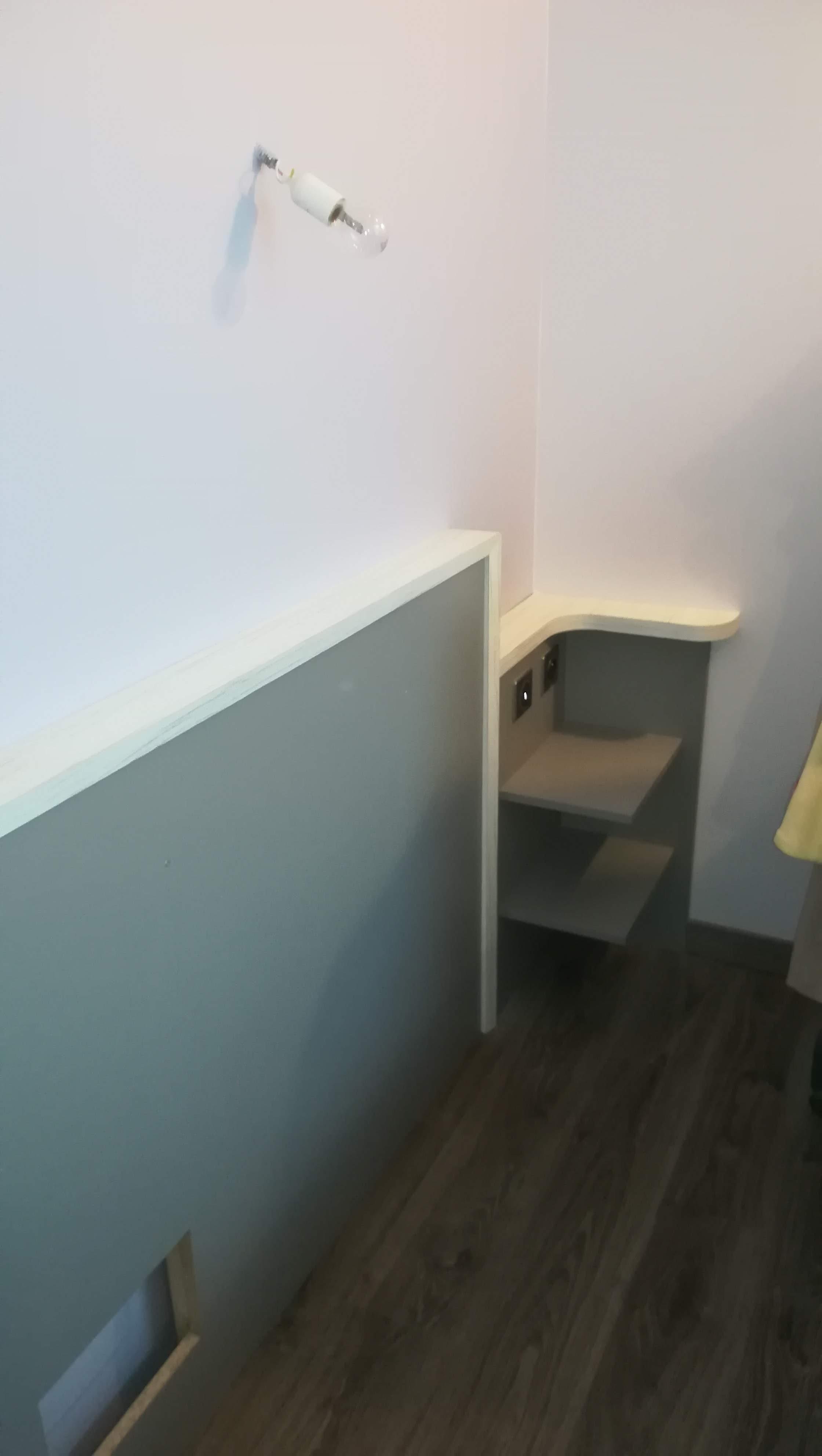 Agencement d'une chambre sur St Sever- Absolu Bois Menuiserie