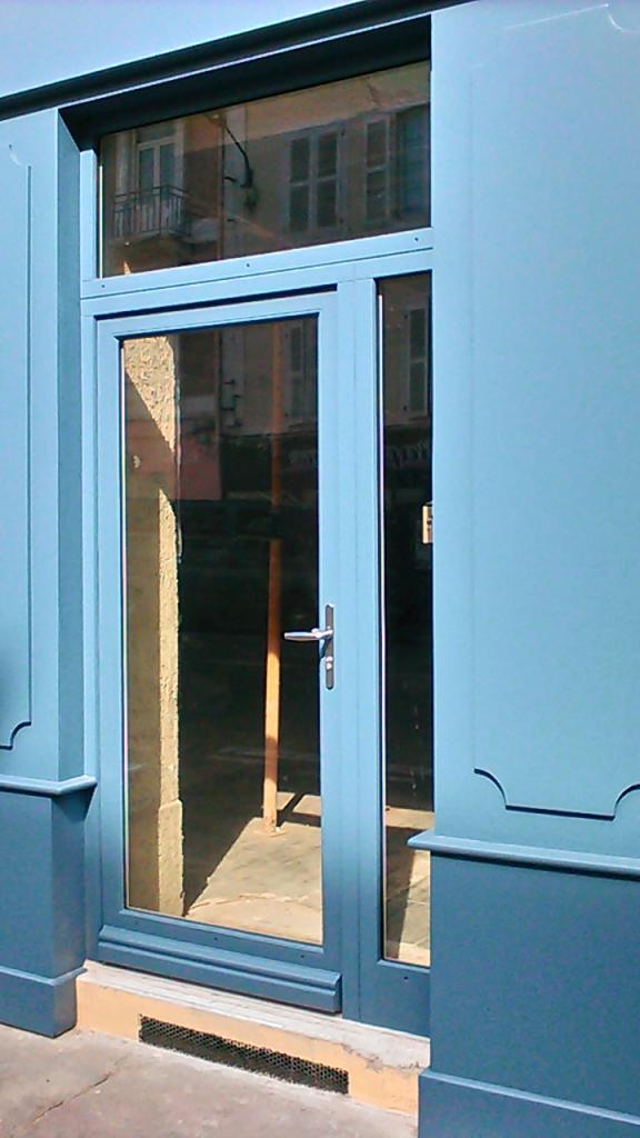 Agencement de 2 façades de magasin sur Pau